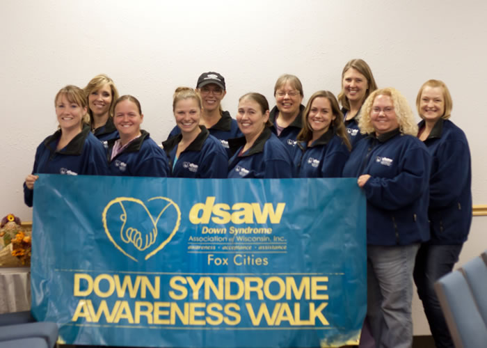 The Down Syndrome Association of Wisconsin—Fox Cities, Recipient